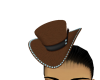 BrownCowGirlHat