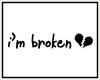 [g] Broken Hearted Sign