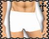 * Plain White Shorts