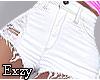 M! White Shorts .