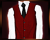 Y' AOTA Red- Vest [M]