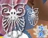 Yumi Silver Skull Earrin