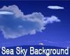 Sea & Sky Background
