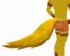 MW Yellow Wolf Tail