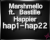 !M! Marshmello -Happier
