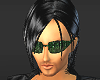 The matrix shades [M]