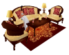 BL Gold Sofa Set