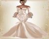 Cream Wedding Gown