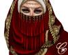 OrliNasira Veil Red