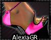 [A] Neon Pink Heels