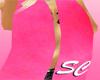 [SC] Pink Logo Scarf Top