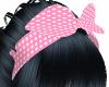 Pink Hair Scarf
