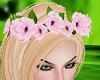 Pink Rose Crown