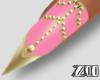 [zuv]pink2 gold nails