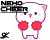 Neko Cheer Headsign - SK