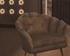 Mocha Shell Sofa