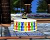Gummie Bear Cake Table