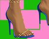 Zebriana Heels