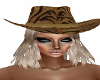 Lucie Cowgirl Hat/Hair