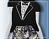 ⓩ Tuxedo Shirt+Shorts