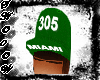 305 Green Miami Fitted