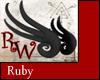 Wyrm Wings - Ruby