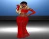 Sammy Red Lace