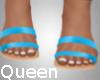 lQl Brea Blue Sandals
