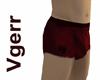 Sexy Burgundy Shorts