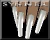 SYN*LatexSilverNails-