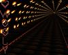 Halloween tunnel room