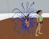 blue fireworks enhancer