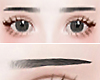Β) eyebrow black