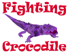 (1M) Purple Fight Croc