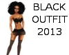 black outfit 2013
