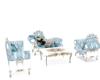 Crystal Blu Sofa Set