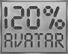 ! 120% Avatar Scaler