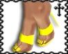 * Yellow Strap Heels V1