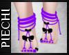 ~P: Neon Bow Feet