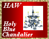 Holy Blue Chandalier