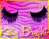 »Black & Purple lashes«