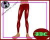 PVC Red Leggins