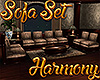 [M] Harmony Sofa Set