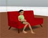 {L}Sofa  RED
