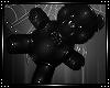 *A* Teddy PVC Black