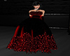 GL-Red Feather Gown