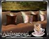 Cats N Coffee Sofa