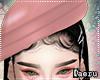 D: Beret Rose Hat