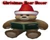 Christmas Bear Decor