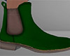 Green Chelsea Boots 2 M